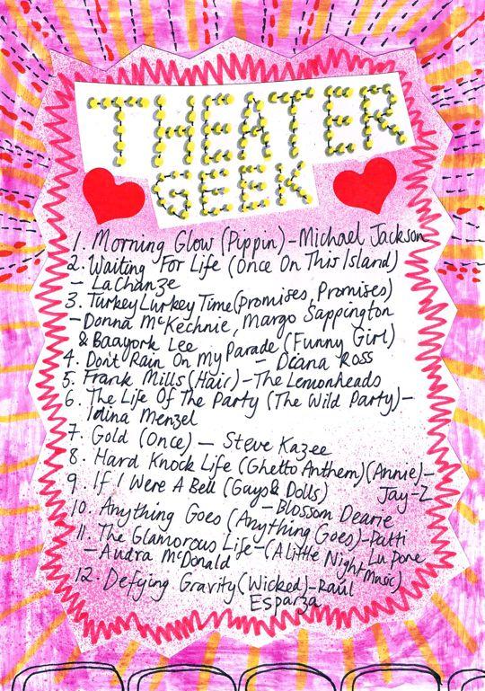 Friday Playlist: Theater Geek