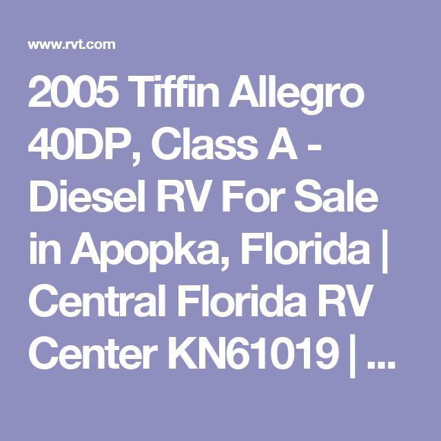 2005 Tiffin Allegro 40DP, Class A - Diesel RV For Sale in Apopka, Florida | Central Florida RV Center     KN61019 | RVT.com - 76823
