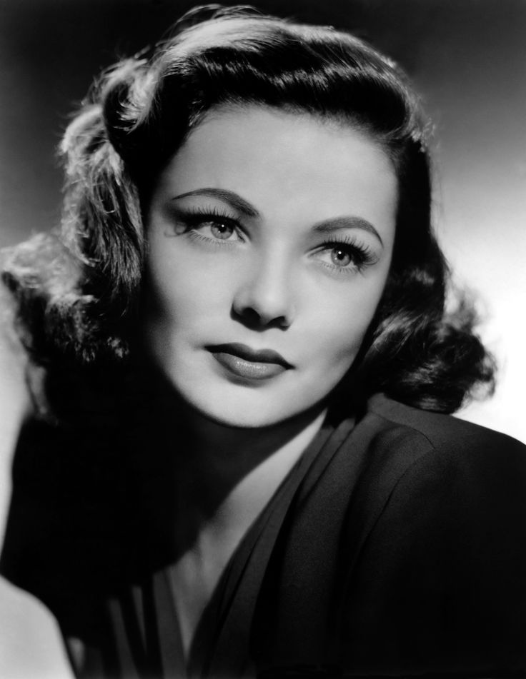 Gene Tierney, my favorite actress.