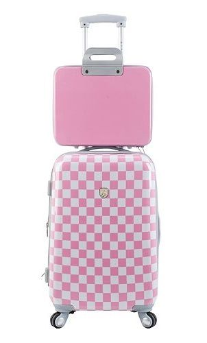 air max 1 grey leopard Travelers Club Luggage  2 pc  Hardside Expandable Luggage Set  pink  Kohls