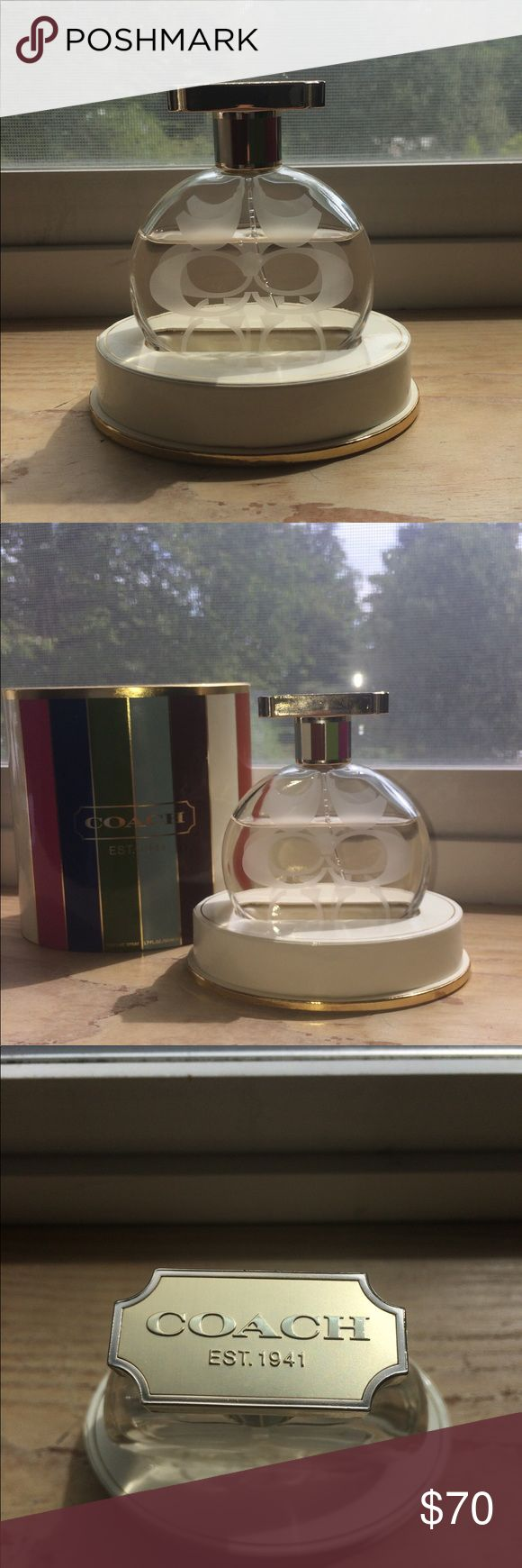 Coach Legacy Perfume Spray 1.7 Fl Oz Lightly used Coach perfume in the scent Legacy. It is full sized, 1.7 fl oz. This perfume is not sold anymore in stores! Open to reasonable offers. Send one over so I can make a price drop for you Sephora Makeup