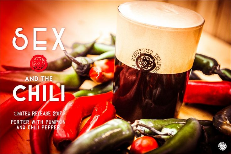 Sex and the Chili, limited release 2017. Porter with pumpkin and chili pepper!