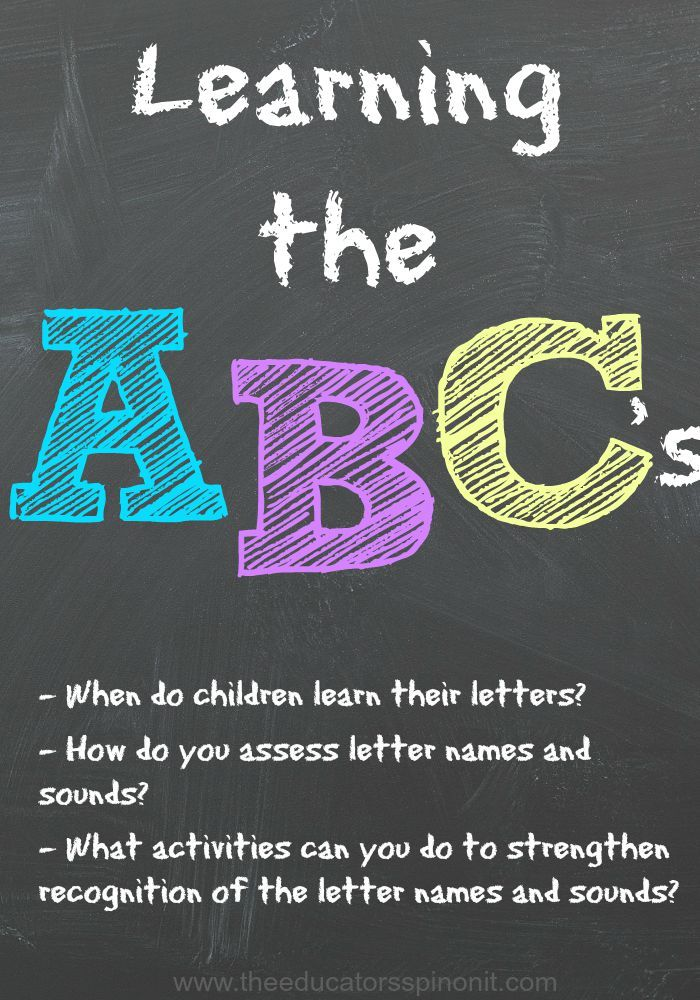 Learning the letter names and sounds is a very important part of early…