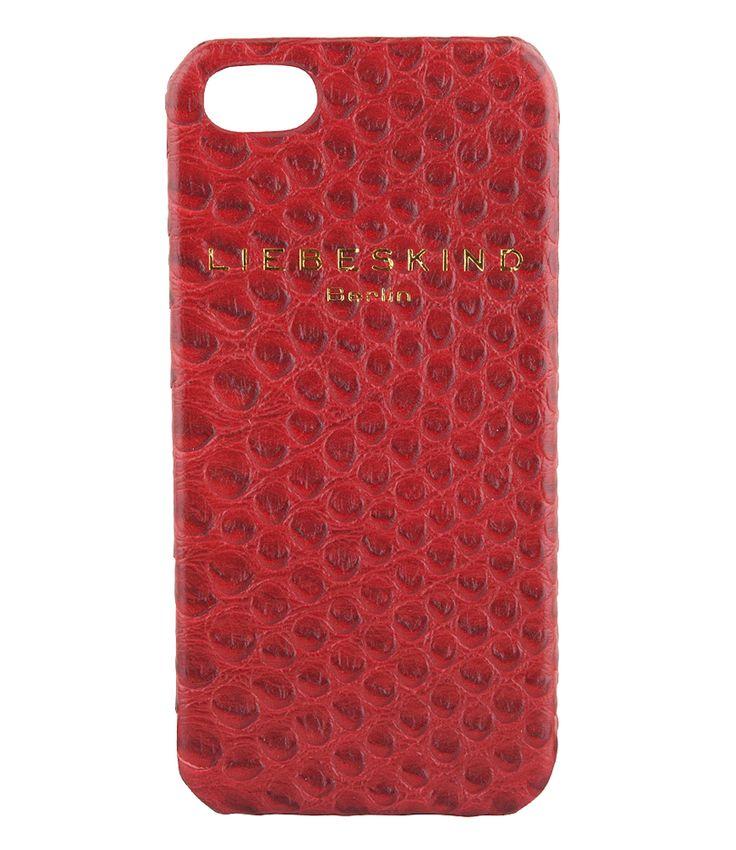 Een opvallend en chique hoesje van Liebeskind. De iPhone 5 cover biedt ultieme bescherming aan je iPhone 5 of iPhone 5S door het stevige materiaal en afwerking. (€29,90)