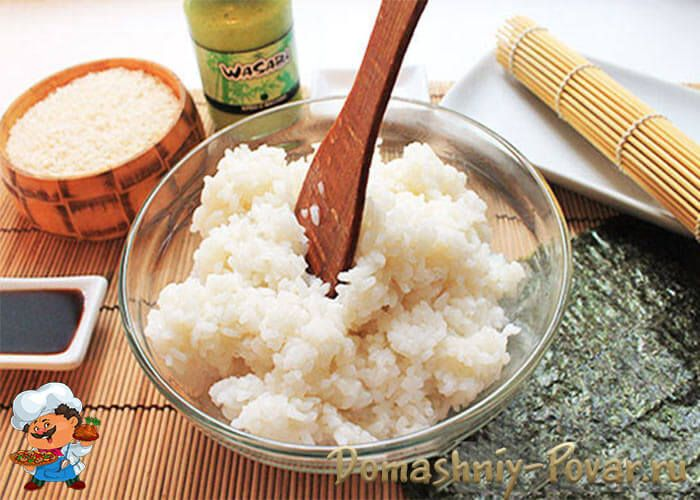 Как сварить рис для роллов в домашних условиях