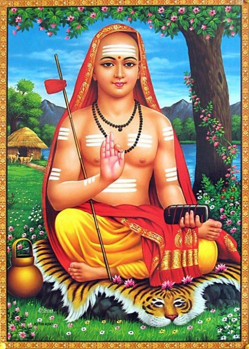 Shri Adi Shankaracharya, reviver of Hinduism, and teacher of Non-dualism (Advaita). One of the truly great minds of history.