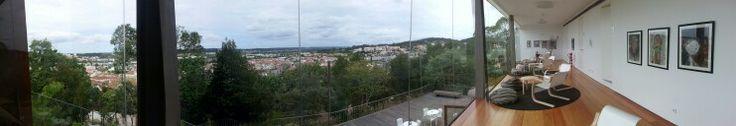 Panorâmica da Cafetaria do Castelo, Castelo de Pombal