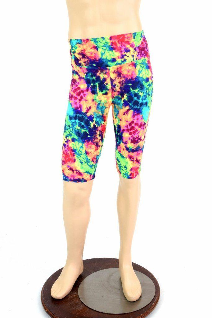 Mens Superhero Blue Star Gold Band Bootcut Spandex Pants Rockstar Rave Festival Yoga Leggings -151980 SeYthMmV4N