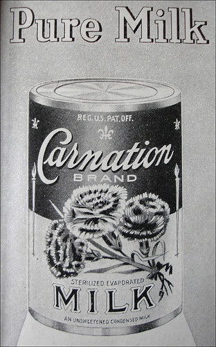 Carnation Milk ad