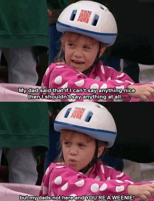 full house.: Quotes, Funny Stuff, Movie, Fullhouse, Michelle Tanner, Full House