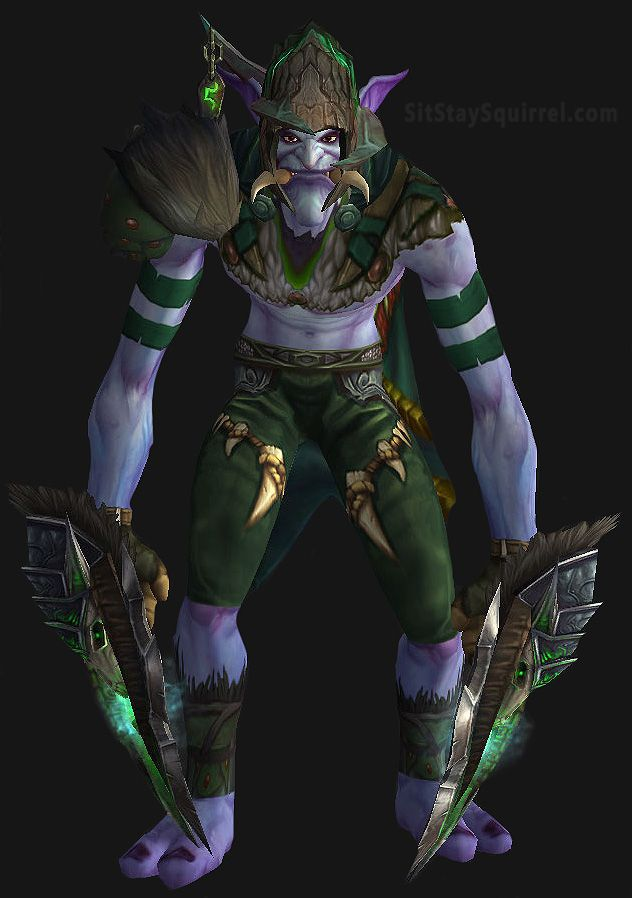 Male Troll Shaman Transmog