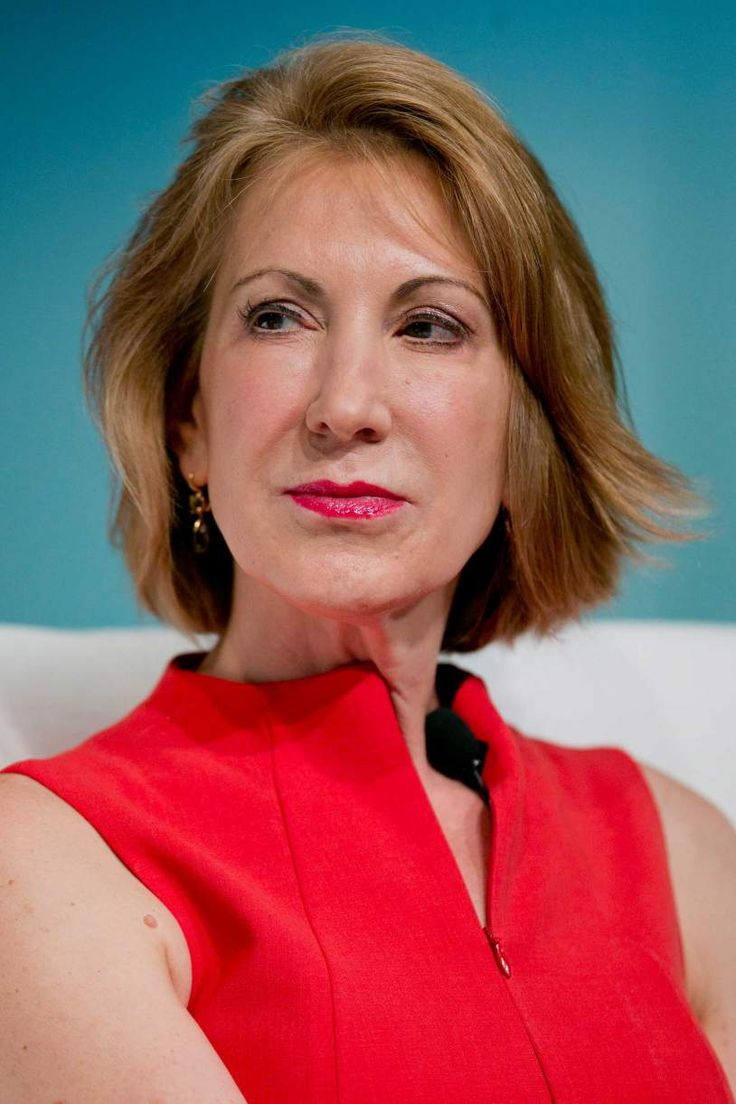 Carly Fiorina - Businessperson and political candidate.