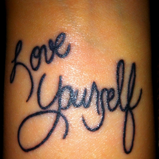 Tattoo Quotes About Loving Yourself: 17 Best Tattoo Ideas Images On Pinterest