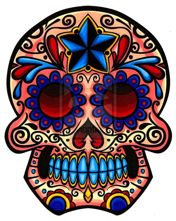 Dia de Los Muertos Skull Paint for Men | This IS My Job