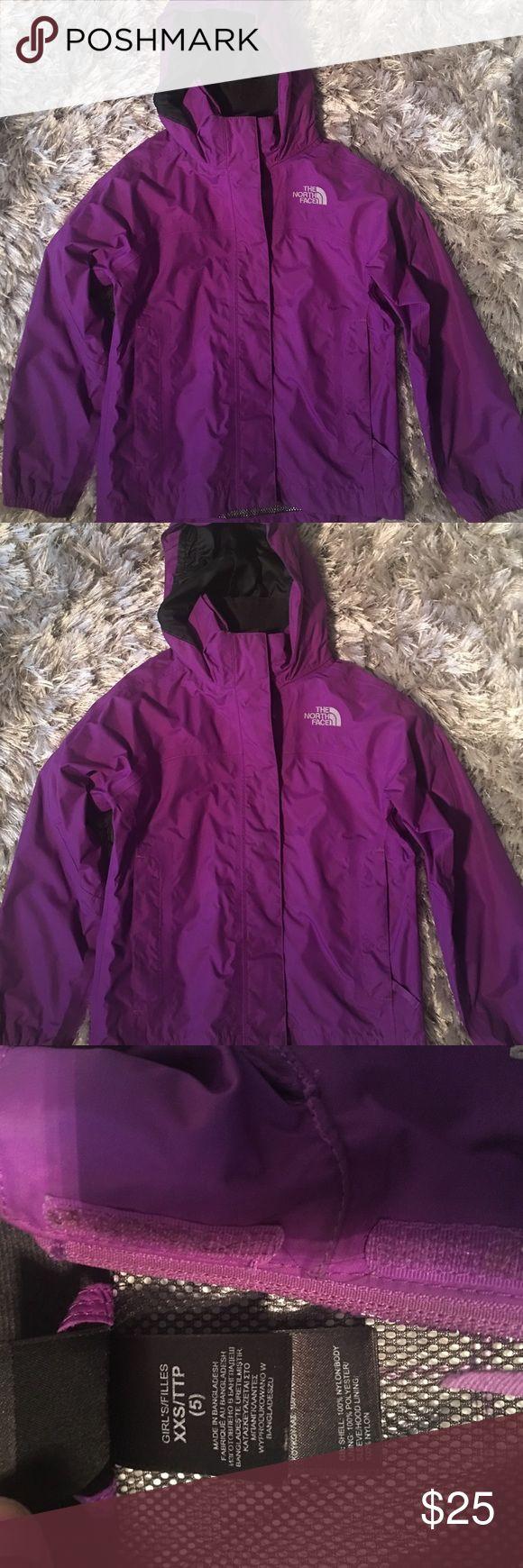 Girls north face windbreaker jacket XXS (5) Gently used girls north face jacket XXS (5) The North Face Jackets & Coats