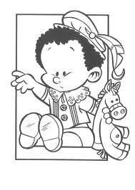 baby piet kleurplaat sinterklaas
