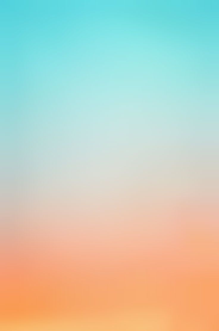 Iphone Wallpaper Ombre Blue And Orange Coordinated