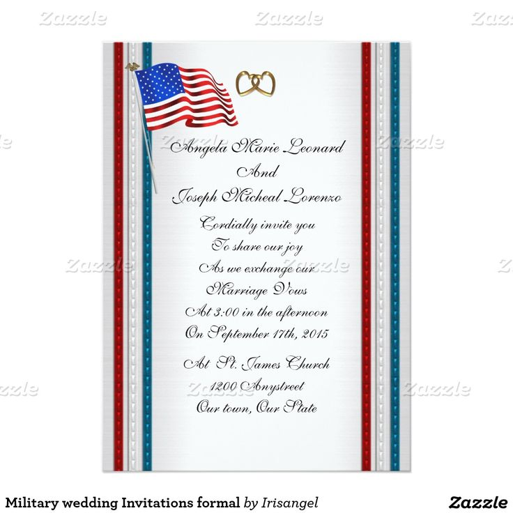 13 best Military wedding Invitations images on Pinterest | Military ...