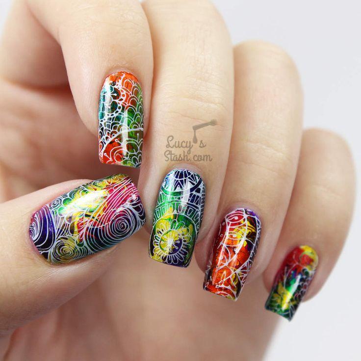 Advanced Nail Art: 228 Best * Advanced Nail Art Ideas Images On Pinterest
