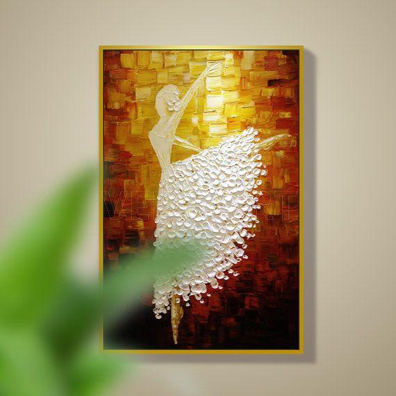 Tamaño 1: 100x50cm(40x20inches) Tamaño 2: 120x60cm(48x24inches) Tamaño 3: 160x80cm(64x32inches) He añadir frontera adicional 1.5 pulgadas Si su necesidad de otro tamaño, por favor amablemente Envíeme un mensaje. Tipo: Pintado a mano Estilo: Abstracto pintura al óleo cuchillo paleta de