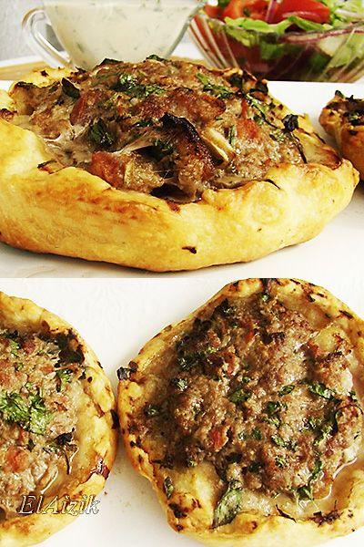 """Лахма-бе-аджин"" (турецкая пицца) • Elaizik"
