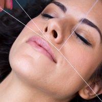 Full face threading/wax & brow tint | R120