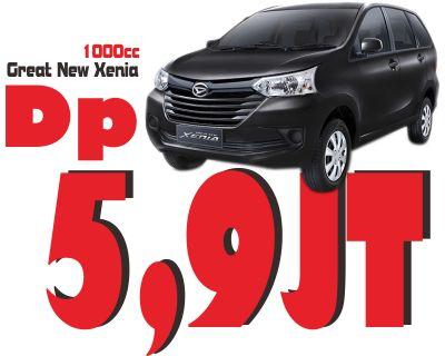 Promo Cerdas Great New Xenia Dp hanya 5,9jt saja angsuran 4.177.000 (60x) asuransi Allrisk.
