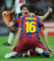 Messi & Busquets