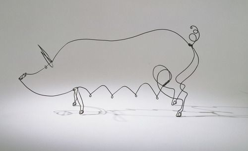 MoMA | The Collection | Alexander Calder. Sow. 1928
