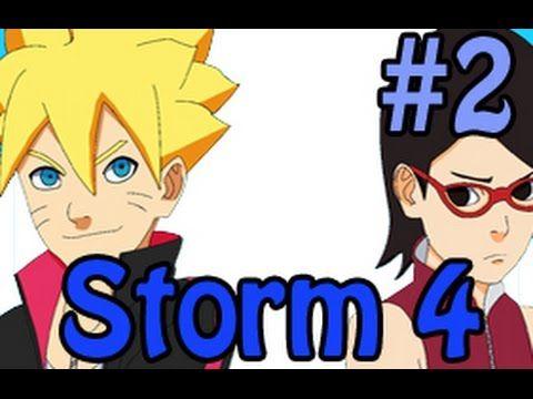 Ultimate Ninja Storm 4 - BORUTO and SARADA!?
