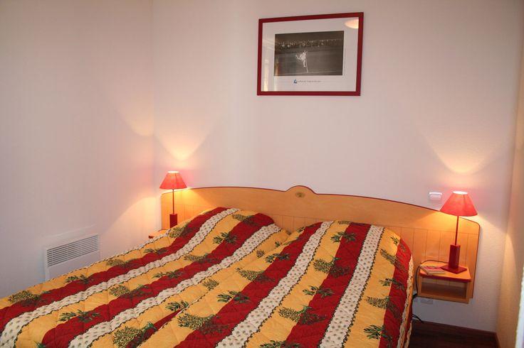 Exemple de chambres de La Palmeraie à Oléron.