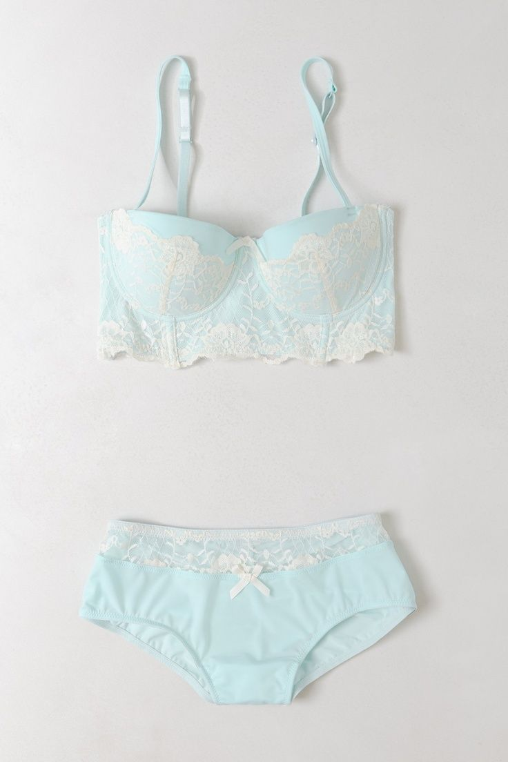 Aurore Lace Set #anthropologie #anthrofave - sexy- I like the color. should wear more of this color-