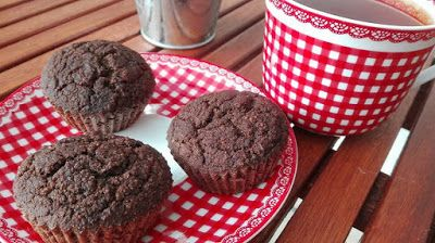 Karobos muffin (paleo, gluténemtes, tejmentes, cukormentes) ~ Éhezésmentes Karcsúság Szafival