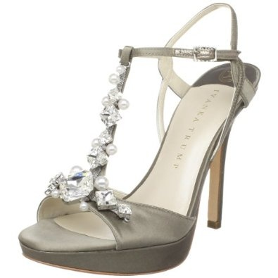 Amazon.com: Ivanka Trump Women's Alluvia Evening Ornamented T Strap  Platform: Ivanka Trump