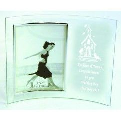 Curved Picture Frame - Crystal Eire €19.95