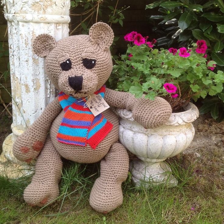 Rickie the bear by BurgdorffDesign on Etsy