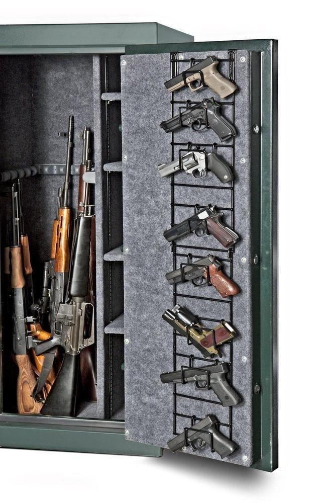 HANDGUN PISTOL RACK Gun Safe Pack Stand Organizer Storage Display Hook Hangers