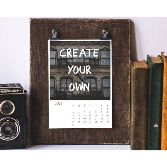 The  Best Ideas About Create Your Own Calendar On