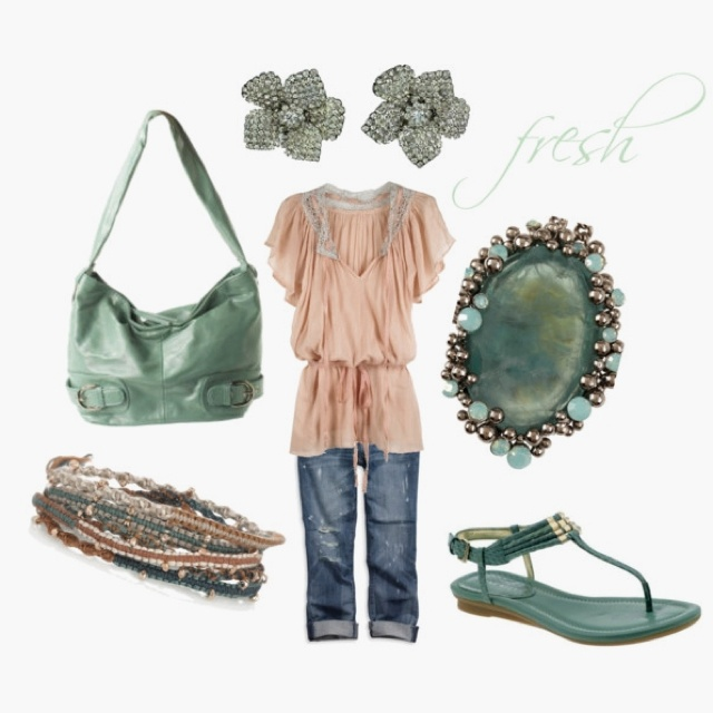 cute summer look by jum jum