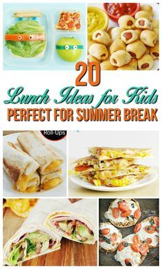 Make summer lunch easy with these 20 fun lunch ideas for kids at home! Skip the sandwiches and have fun making lunch together. Summer is one of my favorite times of the year. No alarm clocks. Late nights. Ice cream and popsicles. It's just fun! But having to[…]