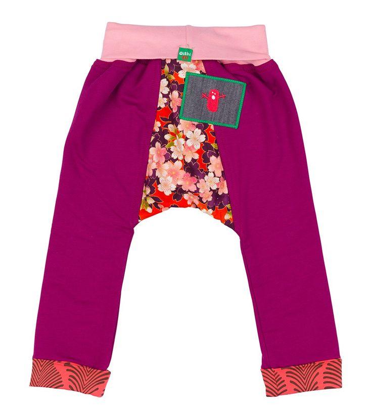 Raspberry Muffin Track Pant, Oishi-m Clothing for kids, Autumn 2016, www.oishi-m.com