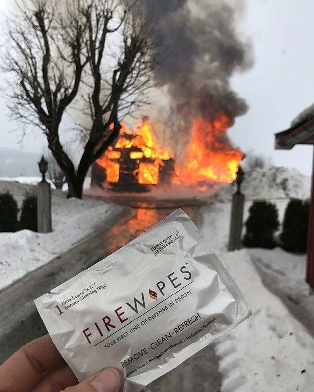 FIREWIPES COM @firewipes - Fire doesnt know the difference