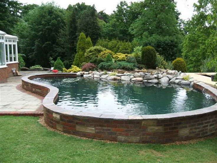 Best 25 pond construction ideas on pinterest swimming for Koi pond construction plans