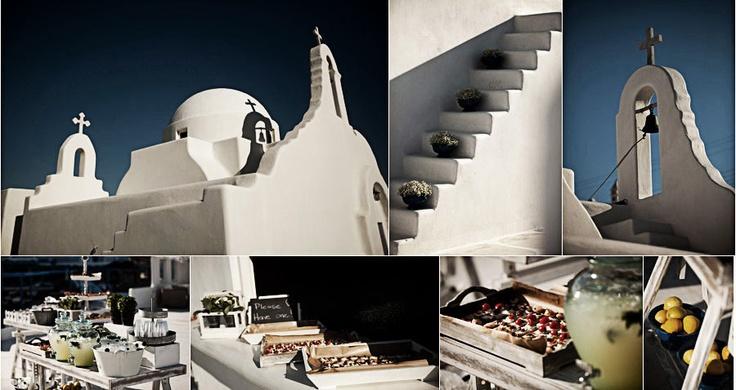 Country elegant wedding ceremony @ Agios Sostis church in Mykonos island!!!