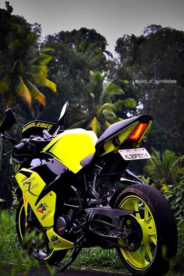 Bumblebee Modified Ktm Rc200 Modifiedx Ktm Bike Pic Ktm Rc Download ktm rc modified wallpaper