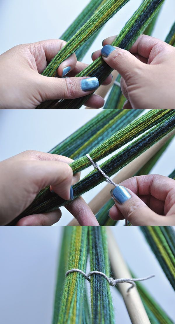 How to finish hand spun