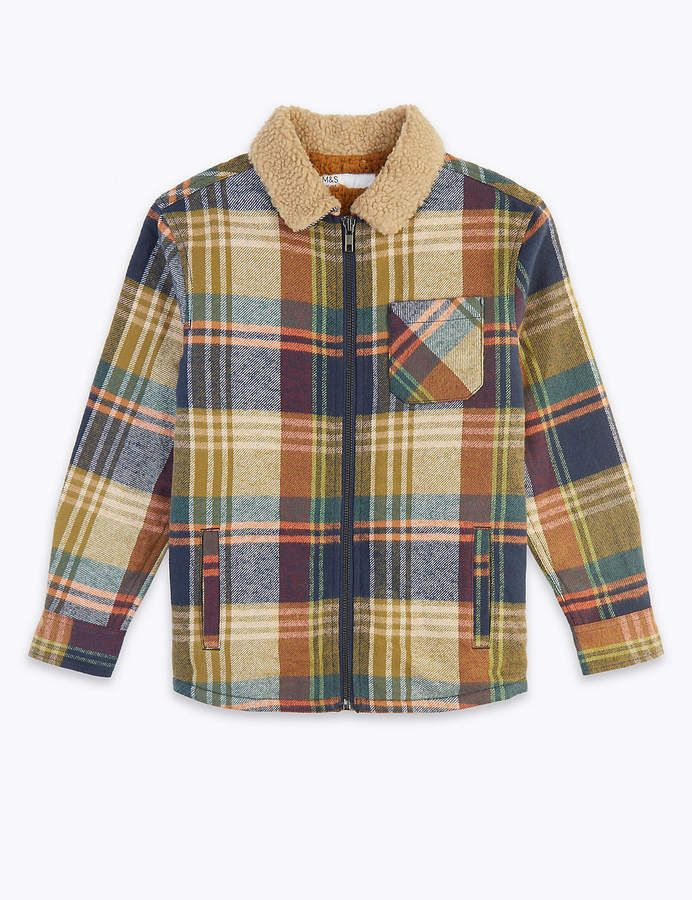 Colour Blue Joules Baby Boys Lachlan Toddler Boys Checked Shirt