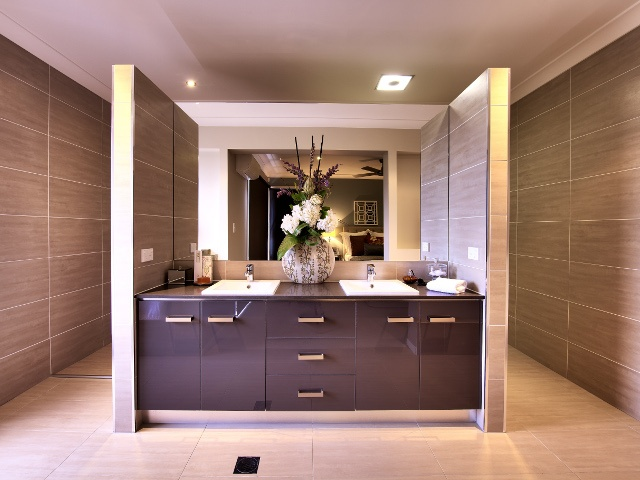 Stylish ensuite