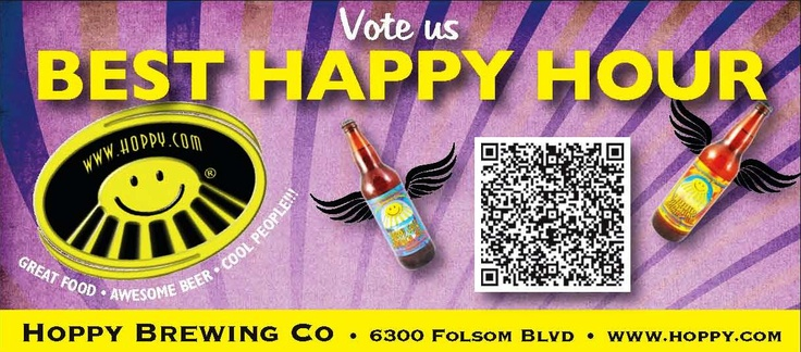 I do love Hoppy Brewing, help them win, by scanning this code with your phone and repinning this.  http://www.hoppy.com