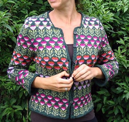 Ravelry: #14 Floral Jacket pattern by Kaffe Fassett